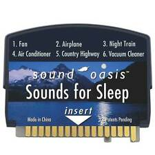 Sound Oasis - Sounds for Sleep Sound Card Therapy System
