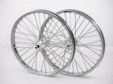 "Voloci electric bike wheels, 17"" DOT Moped rims on Bicycle Hubs"