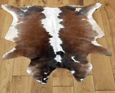 New Multi Colour COW HIDE RUG AREA ANIMAL SKIN (47'' x 49'') COWHIDE ULG-2502