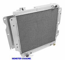1987-2006 Jeep Wrangler All Aluminum 4 Row Champion Radiator Rated to cool 900HP