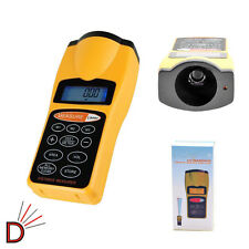 Lcd Ultrasonic Tape Measure Distance Meter & Laser Pointer Volume Calculation UK