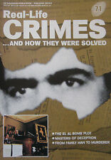 Real-Life Crimes Issue 71 - Nezar Hindawi the Elal bomb plot, Lock An Tam