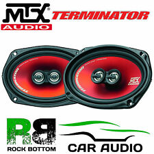 "MTX TR694 - 6""X9"" 3 way 300 Watts 6x9 Car & Van Audio Coaxial Speakers & Grilles"