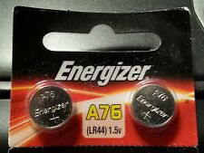 2x GENUINE ENERGIZER LR44 A76 AG13 357 SR44 303 BATTERY
