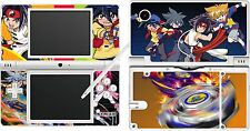 NDSi DSi - BEYBLADE - 4 Piece Decal / Sticker Skin UK