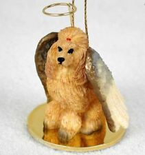 POODLE (APRICOT) ANGEL DOG CHRISTMAS ORNAMENT HOLIDAY Figurine Statue gift