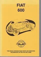 FIAT 600 & 600D ( 1955 - 1961 ) PERIOD ROAD TESTS BOOK