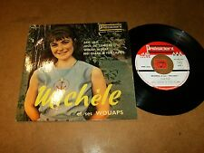 MICHELE & WOUAPS  - EP FRENCH PRESIDENT / LISTEN - TEEN MOD GIRL FRENCH POPCORN