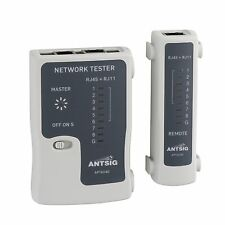 Antsig NETWORK TEST TOOL Suitable For Ethernet & Telephone Cables *Aust Brand