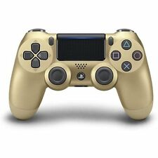PS4 DualShock Wireless Controller - Gold - 2G (Sony)