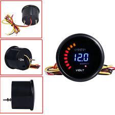 """HS 2"""" 52mm Digital 20 LED Electronic Volt Voltmeter Voltage Gauge For Car Motor"""