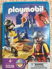 Playmobil 3328 Captive Prince; 4589 Indian Chief; 4556 Mermaid