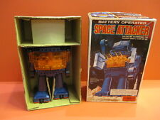 ALL ORIGINAL SH SPACE ATTACKER ROBOT BATTERY OPERATED MIB EX SHOP STOCK JAPAN