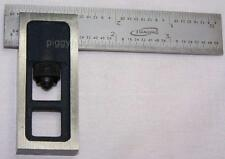 "Igaging 4"" double machinist square precision 8ths,16ths, 32ths,1/64ths  4R blade"