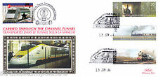 2004 Trains - Benham Channel Tunnel Official (Pr) - Railway Stamp 1