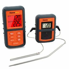 New Wireless Smoker Remote Dual 2 Probe Digital Barbecue Meat Thermometer