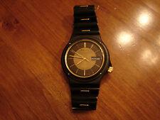 Men's Seiko Wristwatch Quartz SQ Sports 100 black 6923-7060