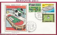 ITALIA FDC FILAGRANO CAMPIONATO ITALIANO DI CALCIO 1991 92 ROMA FILATELICO U665