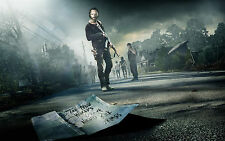 Poster A3 The Walking Dead Rick Grimes Daryl