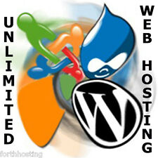 Lifetime illimitato Web Hosting 2 siti bundle software libero + 500 modelli WEB