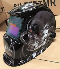 TMR Auto Darkening Welding/Grinding Helmet Hood w/ sensitive/delay time control