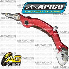Apico Red Rear Foot Brake Pedal Lever For Gas Gas TXT Pro 250 2009-2015 Trials