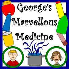 GEORGE'S MARVELLOUS MEDICINE- teaching resource on CD- KS1/ KS2- Roald Dahl