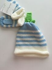 NWT!  Infant Knit Hat and Mittens by Starting Out