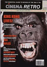 CINEMA RETRO #32 KING KONG ('76) 100 RIFLES THE SOUND OF MUSIC ORCA RAQUEL WELCH