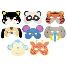 10PCS Assorted EVA Foam Animal Masks for Kids Birthday Party Christmas Xmas Gift
