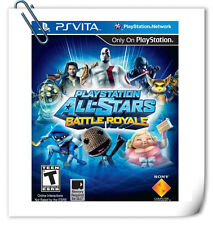 PSV PLAYSTATION ALL-STARS BATTLE ROYALE PlayStation VITA Fighting Games SCE
