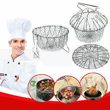 12 in 1 Folding Chef Basket MAGIC KITCHEN Tool As Seen on TV Colander Strainer