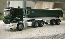 "MB actros mp1 2657 rundmulden-remolcarse ""waggershauser/Kirchheim-teck"" - 1:87"