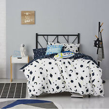 SPACE CONSTELLATION DOUBLE bed QUILT DOONA DUVET COVER SET NEW ADAIRS