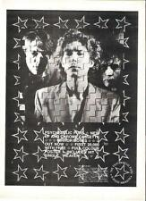 PSYCHEDELIC FURS Mirror Moves UK magazine ADVERT / mini Poster 11x8""