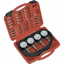 LAST FEW! 4 GAUGE  ADVANCED MOTORCYCLE CARBURETTOR BALANCER TOOL SET  VACUUM