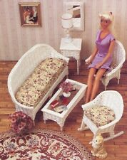 Wicker Furniture Barbie Doll Plastic Canvas Pattern - 30 Days To Shop & Pay!