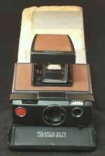 VINTAGE POLAROID SX-70 LAND CAMERA MODEL 3 WITH STYRAFOAM CASE