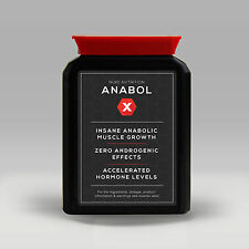 ANABOL X TESTOSTERONE BOOSTER - MUSCLE GROWTH ANABOLIC TRIBULUS TERRESTRIS TEST