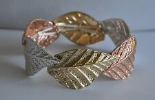 KIRKS FOLLY AUTUMN LEAF STRETCH BRACELET MULTI COLOR