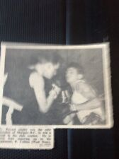 71-4 Ephemera 1957 Picture Margate Boxing G Perczel P Collins West Ham