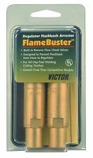 Victor Regulator Flashback Arrestor, FBR-1 FlameBuster, 0656-0004, Oxy/Fuel