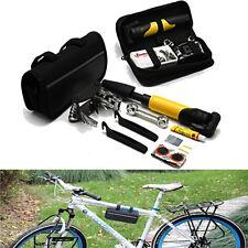 Bicicletta Portatile Ciclismo Kit Di Riparazione Pneumatici Attrezzo Borsa con