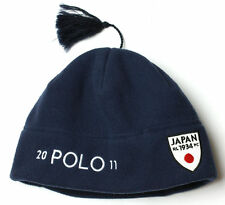 NEW POLO RALPH LAUREN JAPAN POLAR FLEECE BEANIE HAT L / XL