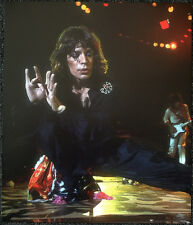 THE ROLLING STONES POSTER PAGE 1975 MICK JAGGER . Y60