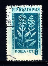 BULGARIA - 1953 - Fiori di montagna e piante mediche
