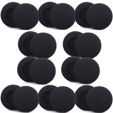 20 Replacement 60mm HeadPhone EarPhone HeadSet Foam Pads Cover