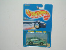 HW `90 BLUE CARD *BLOWN CAMARO * COLL # 58 (RARE DRK BLUE DECO) MOC