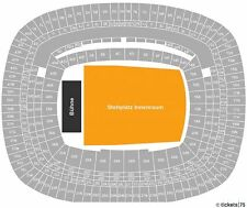 COLDPLAY Konzert Tickets in FRANKFURT 01.07.2012 Stehplätze Karten TOUR live