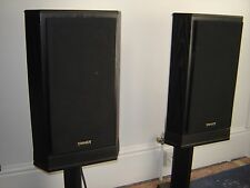 Tannoy 609 Dual Concentric speakers and stands